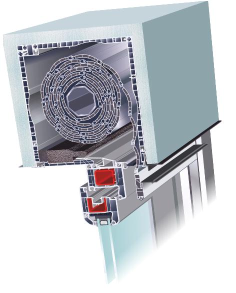 bewa-plast Aufsatzkastensystem Thermo-Max