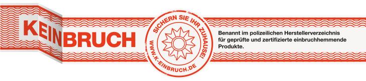 K-EINBRUCH Prüfsiegel