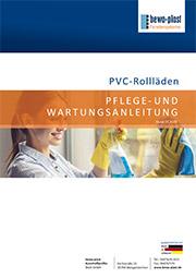 Wartungsanleitung PVC-Rollladen 03-20