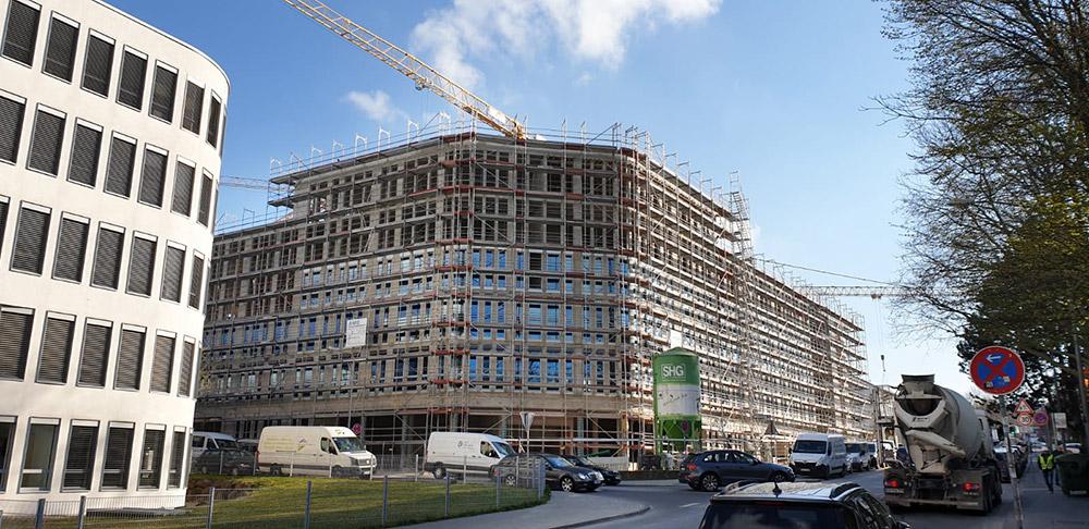 Züblin Büro und Wohngebäude Welfenstr. Wiesbaden